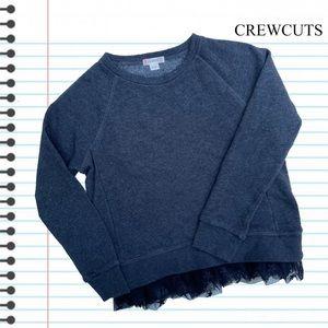 Crewcuts Tulle-Hem Sweatshirt